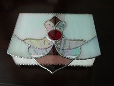JEWELRY BOX STAINED Glass by LegacyStainedGlass on Etsy, $42.99
