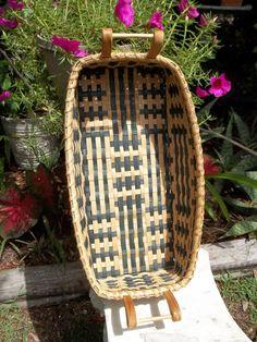 Handmade Cherokee Design Long Basket with by GinnyDareBaskets, $59.00
