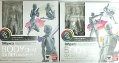 S.H.Figuarts SHF BODY CHAN Kun DX Set (Gray Color Ver.) Action Figure 30 Points #Bandai