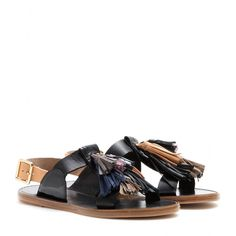 Clay Leather Sandals » Isabel Marant + mytheresa.com