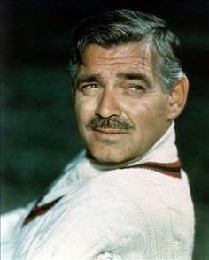 Clark Gable started to pursue professional acting at 21 after inheriting some money. Description from buddytv.com. I searched for this on bing.com/images
