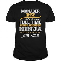 Awesome Tee For Manager Qhse T-Shirts, Hoodies (22.99$ ==► Order Here!)