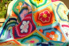 Crochet blanket by Gilly Lilly,