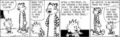 Calvin's gum chewing system