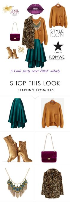 """""""Little party"""" by lenapolishchuk ❤ liked on Polyvore featuring Badgley Mischka, Gianvito Rossi, Red Herring, Lucky Brand and New Look"""