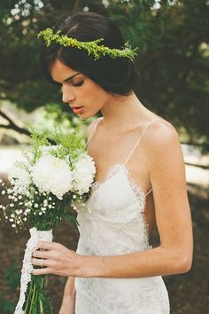 Beautiful Backless Wedding Dresses By Katie MayBridal Musings Wedding Blog