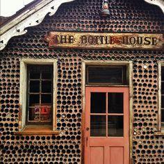 The Bottle House via popsicleblog