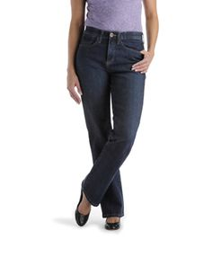 "I found that jeans that come up ""just below the waist"" look much better on me. The back waist keeps up against my waist and it reduces that pesky waist bulge."