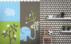 kolekce Elephants, for him - designové tapety DecorPlay