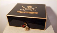 Elie Bleu Humidors: Limited Edition - St.Barts Pirates 75 cigars by Comptoir du Cigare - St. Barts, St-Barth, Saint-Barthélemy