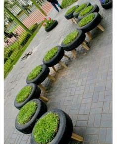Des bancs hors du commun pour votre jardin