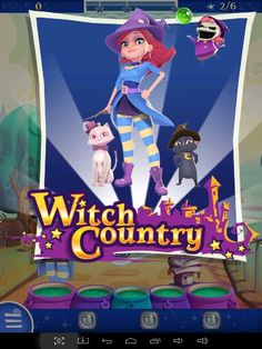 Woah! Ok... Witch Country. I think I get it now...