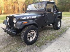 Car brand auctioned:Jeep CJ LAREDO 85 Car model jeep cj 7 laredo project rock crawler mud bog hunting beach Check more at http://auctioncars.online/product/car-brand-auctionedjeep-cj-laredo-85-car-model-jeep-cj-7-laredo-project-rock-crawler-mud-bog-hunting-beach/