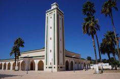 Moskee in eigen straat