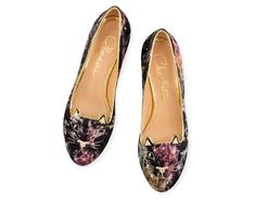 CHARLOTTE OLYMPIA Kitty Flats. #charlotteolympia #shoes #