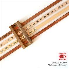DANESE MILANO 万年カレンダー Calendario Bilancia