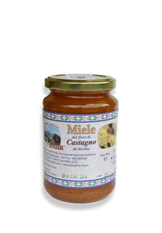 Miele vergine integrale dei fiori di Castagno