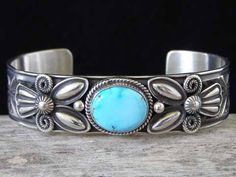 Andy Cadman Royston Turquoise Bracele... at Chacodog.com