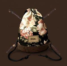 Flower Gym Bag www.btchbag.com