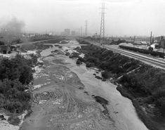 [All photos via the amazing LA Public Library photo collection] This is the year and especially the summer of the Los Angeles River--on January 1, it officially became a river again (not just a...