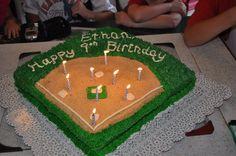 Ethan's 8th birthday cake