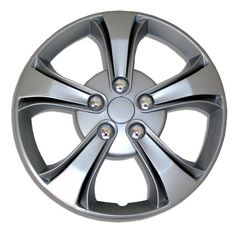 Amazon.com: TuningPros WC-15-616-S 15-Inches-Silver Improved Hubcaps Wheel Skin Cover Set of 4: Automotive