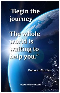 Just loving this quote from Debasish Mridha