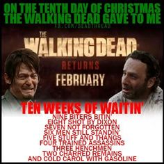 On the tenth day of christmas -TWD