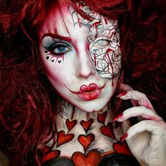 Queen of Hearts! Wearing @camoeyes Contacts and @pasteldreamsuk Contacts! ❤️