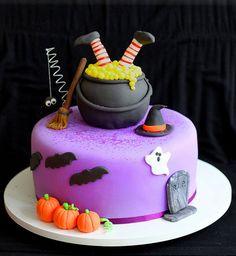Gâteau d'Halloween : le gâteau socière