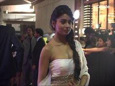 shriya saran's stunning white choli saree catches many eyeballs.