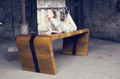 *Art Deco Tisch* von New Mono Design auf DaWanda.com