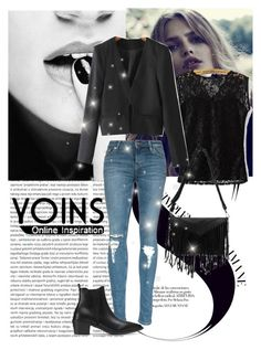 """YOINS"" by lejlasaric ❤ liked on Polyvore featuring Cuero, women's clothing, women, female, woman, misses and juniors"