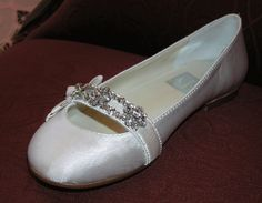Why cant you wear flats to your wedding? Their cute, comfortable, and no one can see your shoes anyways if your dress is long :)