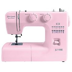Love this sewing machine too, and it is a bit fancier BUT isn't such a nice pink! £99