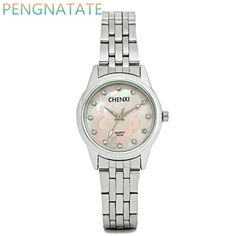 CHENXI Women Rhinestone stainless steel Watch Fashion Brand Water Resistant Luxury Watches Analog Quartz Wristwatch PENGNATATE $18.92   => Save up to 60% and Free Shipping => Order Now! #fashion #woman #shop #diy  http://www.greatwatch.net/product/chenxi-women-rhinestone-stainless-steel-watch-fashion-brand-water-resistant-luxury-watches-analog-quartz-wristwatch-pengnatate/