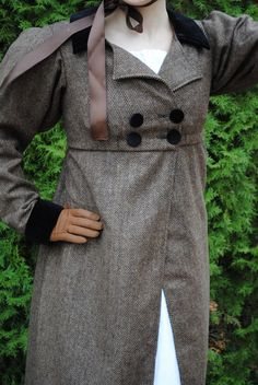 Regency Jane Austen dress Spencer Jacket Pelisse by MattiOnline
