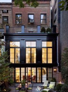 Robert AM Stern Architects Townhome in West Village