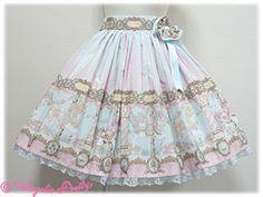 "Angelic Pretty ""Day Dream Carnival"" skirt in sax"