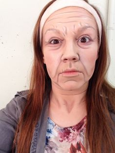 Stage Makeup: Old Age