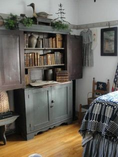 Good idea for the kitchen cupboard in the bedroom