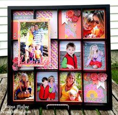 Dream Pop Photo Printer's/Display Tray Frame Gift by Jayma Malme