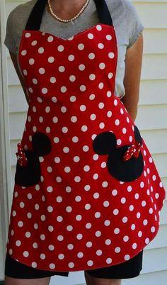 Minnie mouse mandil