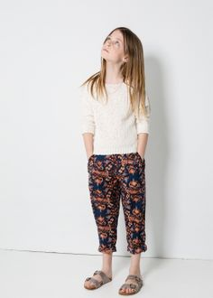 Pantalon ikat animal #verababkina#sugarkids