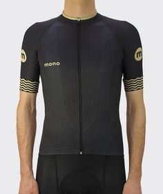 Mono Cycling 2017 - Black Waves Jersey - Front.jpg