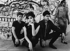 photographer unknown, Rudy Medina, Teresa Covarrubias and Sid Medina. East Los Angeles, CA, ca. 1983. Courtesy of Teresa Covarrubias.