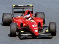 Jean Alesi su Ferrari F92A.