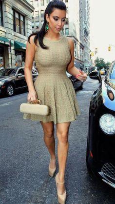 I love Kim Kardashian's style. So perfff!!