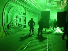 SET: Radioactive Containment Doors on GODZILLA | yvrshoots