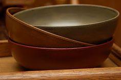 thrift store bowls makeover